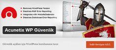 Guney59 Paylaşım : Wordpress Acunetix WP Güvenlik Eklentisi
