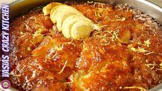 Λεμονοπιτα Σαν Γαλακτομπουρεκο – Μια Ευκολη & Πεντανοστιμη Συνταγη – Λεμ... Pan Dulce, Chili, Pork, Meat, Youtube, Cakes, Kale Stir Fry, Chile, Cake Makers