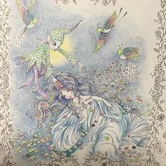 #tomokotashiro #fairytalecolouringbook #princessesandfairiescolouringbook #princessesandfairies