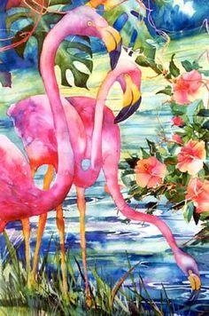 David R Daniels.WATERCOLOR. Love this painting! Thank you David for a great example!