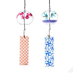 The Japanese Glass Wind Chime, Edo Furin / Tokyo Pic Japanese Wind Chimes, Bell Art, Glass Wind Chimes, Aesthetic Japan, Doodle Lettering, Modern Glass, Resin Art, Art Images, Art Pieces