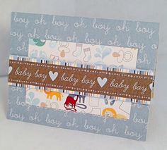 It's a Boy 13 by JBRCards on Etsy So cute for a baby shower!