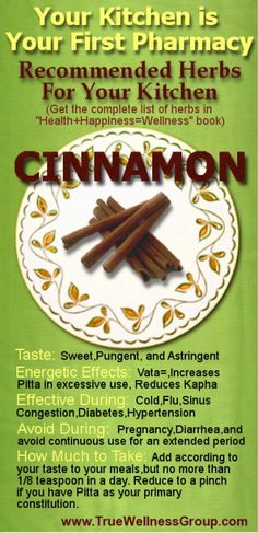 common-herbs-in-the-kitchen - cinnamon