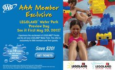 Nice Legoland offer for AAA Members