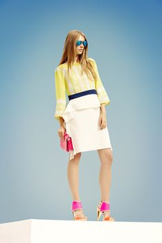 BCBG Max Azria Resort 2013 Collection on Style.com: Runway Review