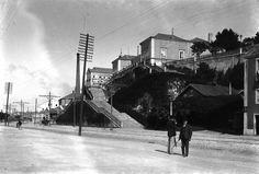Av. 24 de Julho e Escadas da Rocha de Conde d'Óbidos, Lisboa