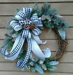 Affordable Wreath Christmas Decoration Ideas 21
