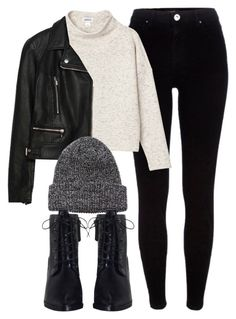 Untitled #6125 by laurenmboot on Polyvore featuring polyvore, fashion, style, Monki, Zara, River Island, Zimmermann, Coal and clothing