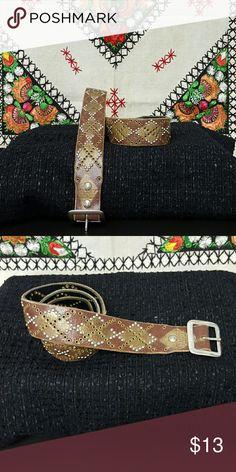 Leather Belt LEATHER BELT Accessories Belts