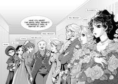 """Curiosidades: """" La adaptación de Orgullo y Prejuicio en manga fue realizada por la escritora Stacy King con arte de Po Tse""""."""