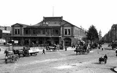La gare de la Bastille à la fin du XIXe siècle. Photo :  © Léon et LévyRoger-Viollet