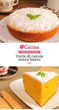 #Torta di #carote senza burro
