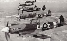 Ww2 Aircraft, Fighter Aircraft, Military Aircraft, Fighter Jets, Luftwaffe, Rolls Royce, Hermanos Wright, Spitfire Supermarine, The Spitfires