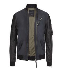 Henan Bomber Jacket, Men, New, AllSaints Spitalfields