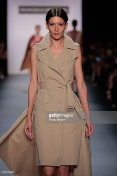 Katya Tolstova walks the runway during the Francesca Liberatore September 2016 Spring 2017 New York fashion Show at The Dock, Skylight at Moynihan Station on September 9, 2016 in New York City.