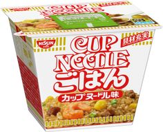 Nissin Cup Noodle Rice