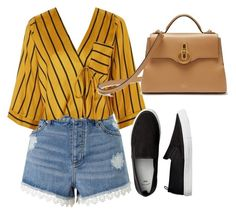 """Untitled #92"" by isabellamoura-1 on Polyvore featuring Miss Selfridge, Topshop and Mulberry"