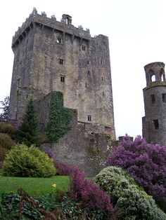 Blarney Castle - time to kiss the Blarney stone