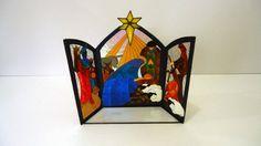 Glass nativity