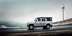 14 Model Year Defender – Side profile view