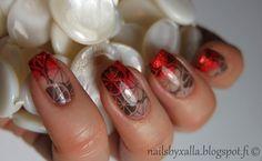 Fruitylicious, fruit nails, China Glaze Riveting, Zoya Dhara, Bundle Monster stamping plate, #ablecs15