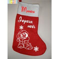 Personnalisé Noël Lutin Bonhomme De Neige Renne Arbre Décoration nom tag Stocking
