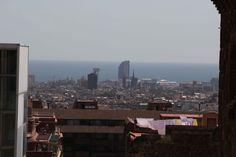 Vista desde el Parc Güell, abril 2014