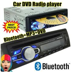 2015 new car DVD VCD CD MP3 radio player Support BLUETOOTH answer / freehand phone 12V 1 din audio stereo mp3 bluetooth AUX IN