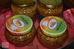 Mere rase la borcan - CAIETUL CU RETETE Salsa, Deserts, Jar, Food, Decor, Decoration, Essen, Postres, Salsa Music