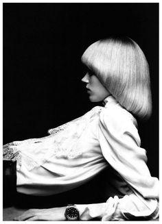 Freja Beha by Hedi Slimane for Vogue Paris, nov 2010