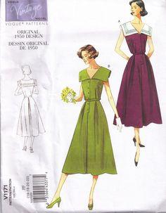 Vogue 1171 Retro 50s Reprint Vintage Model by PeoplePackages, $10.95