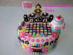 Dj theme bday cake