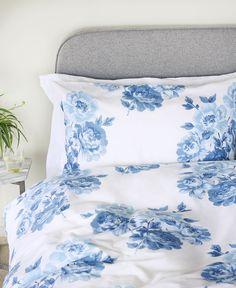 Multi-blue & white. Crisp!