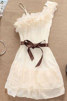 Off Shoulder Ruffled Embellished Chiffon Party Dress