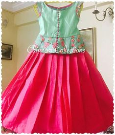 myra Kids Dress Wear, Kids Gown, Kids Wear, Kids Lehenga, Baby Lehenga, Kids Blouse Designs, Dress Designs, Little Girl Dresses, Kid Dresses