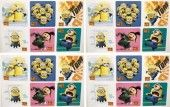 DESPICABLE ME STICKERS – Despicable Me Birthday Party Favor Sticker Set Consisting of 45 Stickers Featuring 6 Different Designs Measuring 2.5″ Per Sticker