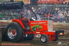 Like Jackie Gleason used to say...HOW SWEET IT IS Truck And Tractor Pull, Tractor Pulling, Truck Pulls, Allis Chalmers Tractors, Jackie Gleason, Tractor Mower, Logging Equipment, Trucks, Chain