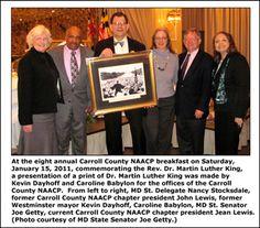 Westminster Maryland Online: CC NAACP 12th annual MLK breakfast 10Jan2015 Westminster with guest speaker Dr. Carla D. Hayden http://kevindayhoffwestgov-net.blogspot.com/2015/01/cc-naacp-12th-annual-mlk-breakfast.html
