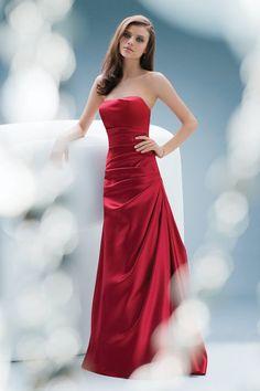 natural waist bridesmaid gowns