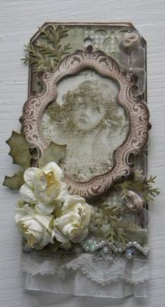 Frame flower and tag are gorgeous!