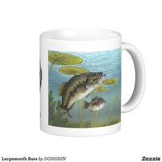 Largemouth Bass Classic White Coffee Mug