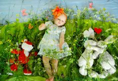 "Creative photography project ""The Bonnie Days"" Title: Midsommar (Midsummer) ©Linda Skoog Törncrantz #photography # Portraiture #kids #art #fun #creative #D.I.Y #babies"