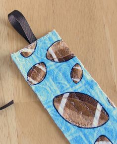 Fabric Bookmark for Kids sewing project ideas for Ryleigh