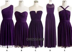 EGGPLANT SERIES Bridesmaid dress/strapless/sheath by Dressfan, $78.00. Perfect. I love A. I think that is the dress.