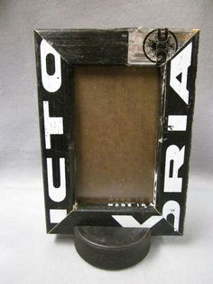 4 x 6 Hockey Stick Picture Frame by Manland on Etsy, $16.75