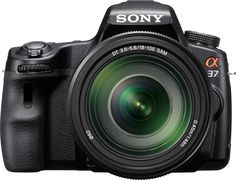 Sony Alpha SLT-A37M 16.1 MP Exmor APS HD CMOS Sensor DSLR with Translucent Mirror Technology and 18-135mm Lens (Black) *** You can get more details by clicking on the image. (This is an Amazon Affiliate link and I receive a commission for the sales)