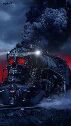 Gothic Art Dragon Screensaver | Gothic train