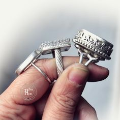 The rings had been pulished