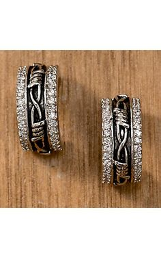 Montana Silversmiths® Vintage Charm Rancher's Daughter Cuff Earrings | Cavender's
