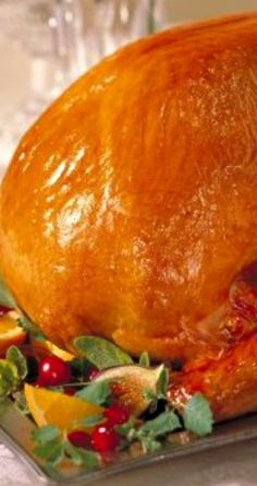 Guidelines For Brining Turkey ~ Poultry Brine Recipe... The secret to perfect juicy chicken and turkey is simple